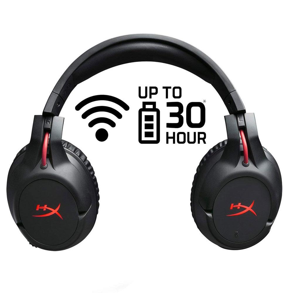 HyperX New Arrival 2018 Wireless Earphones Cloud Flight Headset 30Hour Battery Life for PS4 PC mp3 Gaming Computer <font><b>Headphones</b></font>
