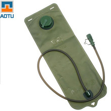 AOTU 3L Green Small Hole Outlet TPU Water Bag Outdoors Water Packs Sporting Camping Bicycling Cycling Backpack Water Pipe Bags