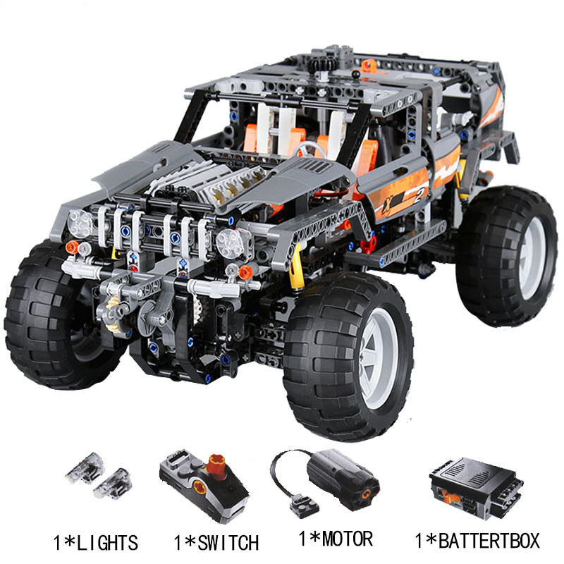 Lepin 20030 Technic Ultimate The Off-Roader Set Children Building Block Brick Toy Model Gifts Competible with Legoingly 8297 20030 technic ultimate series the off roader set children building blocks brick toy model gifts competible with legoingly 8297