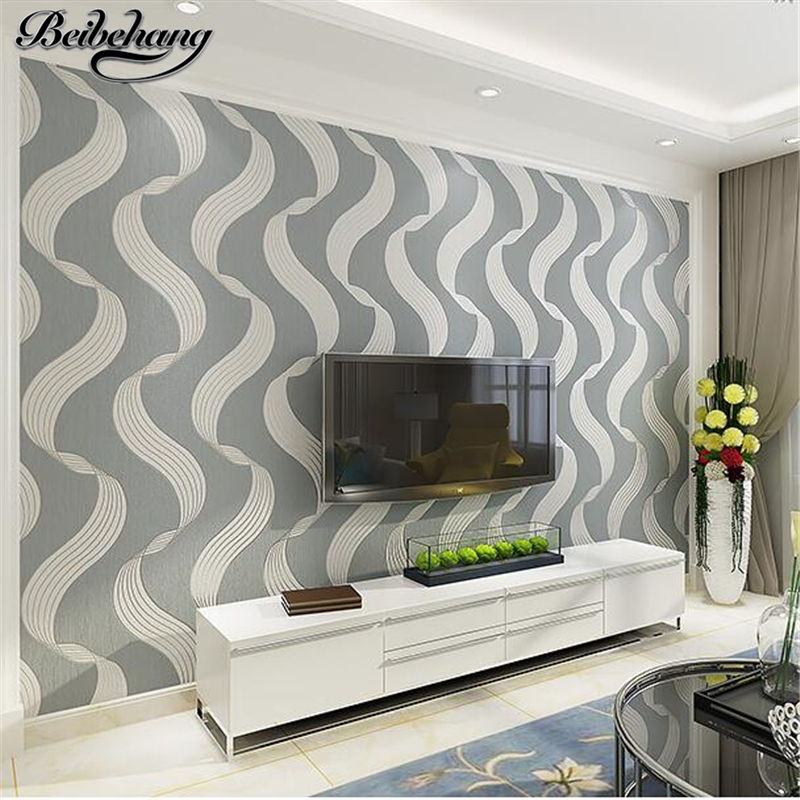 beibehang wallpaper Simple modern non-woven wallpaper 3d stereo TV background wall decoration living room bedroom warm wallpaper free shipping european tv background wall painting non woven wallpaper living room wallpaper modern rose wallpaper mural