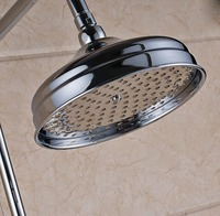 Chrome Finish Rainfall Shower Head Rotatable Top Rain Shower Head Bathroom Accessory Ksd236