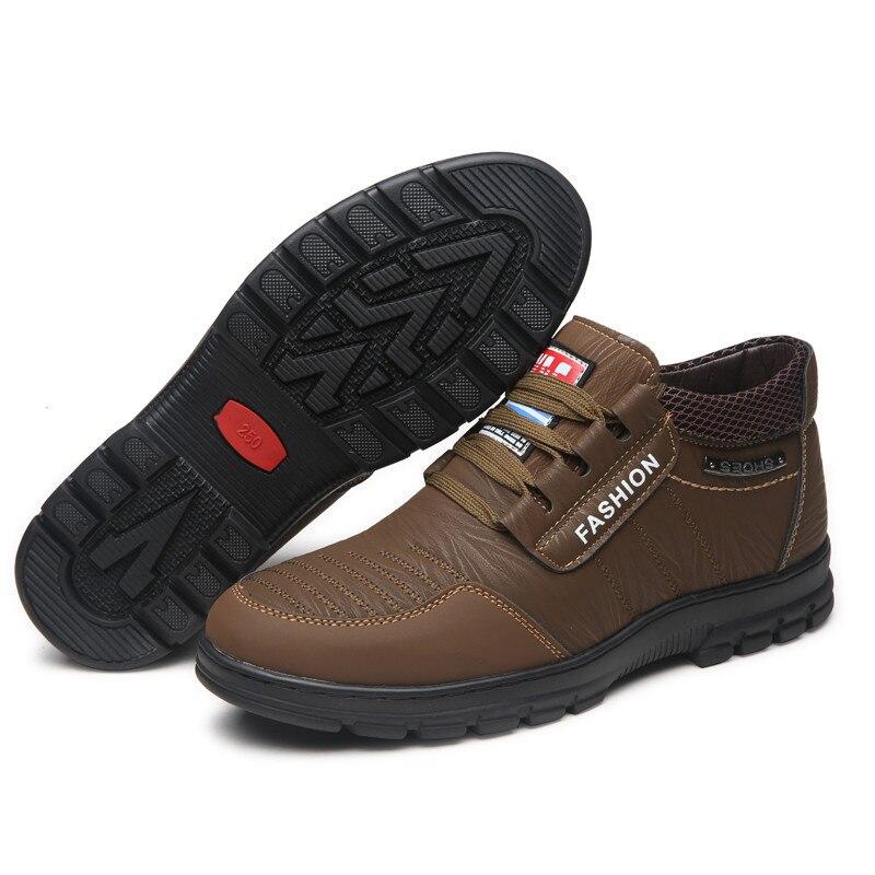 brown Chaussures 44 Sécurité De D'hiver 38 Hommes Travail En Peluche Bottes Au Kaki Hiver Khaki Chaud Brun 1aqqEHBn