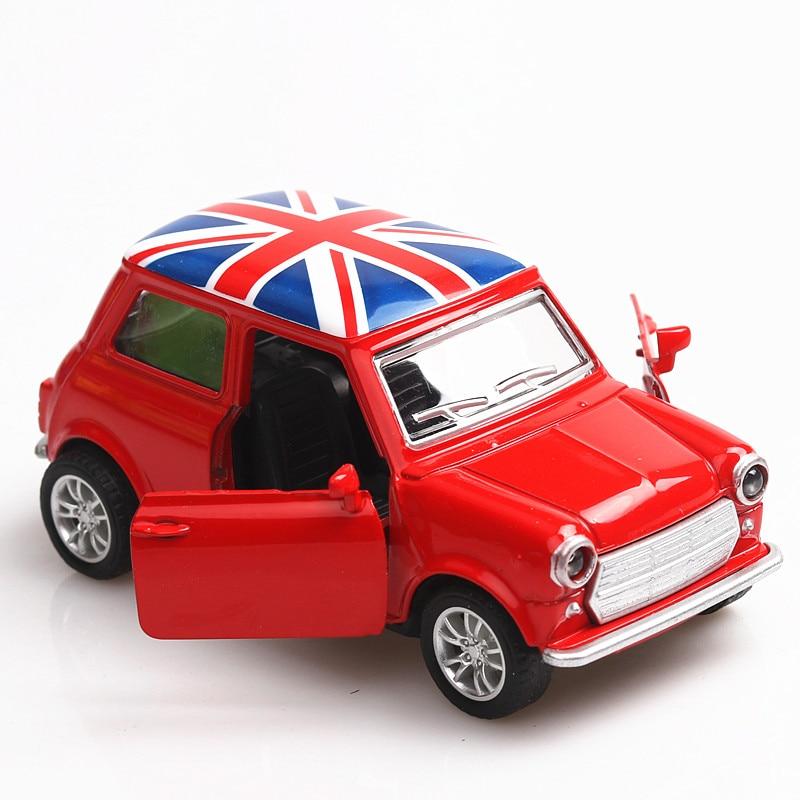 1:36 Diecast Car Mini Metal Model Car Alloy City Vehicles Toy Birthday Cooper Model Car Kids Dinky Toys For Children