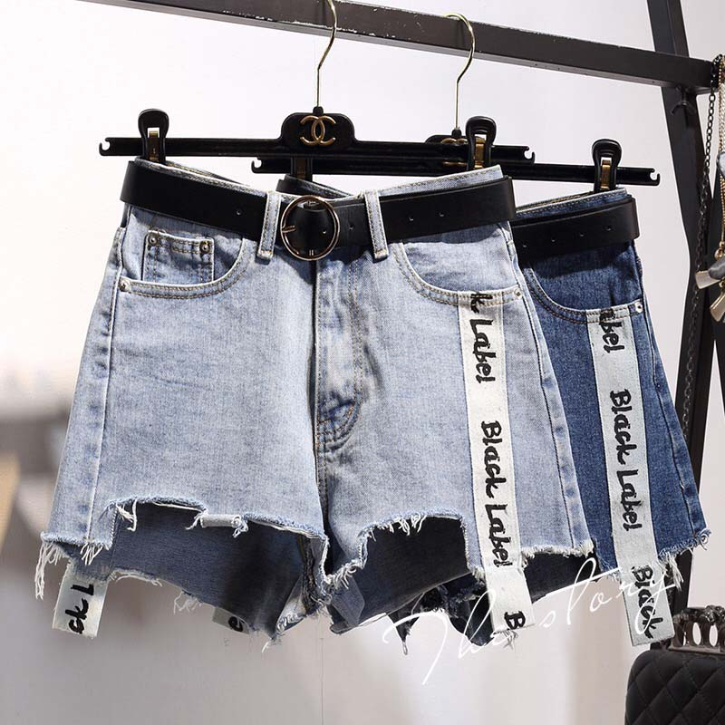 Denim Jean Shorts Femme 2019 Shorts Verano Mujer Women Sweatpants High Waisted Plus Size Feminino 5xl Hotpants Strapon Harness