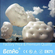 AO051 Free shipping  &Inflatable Cloud  helium balloon  for sale/Inflatable sky helium balloon for advertising
