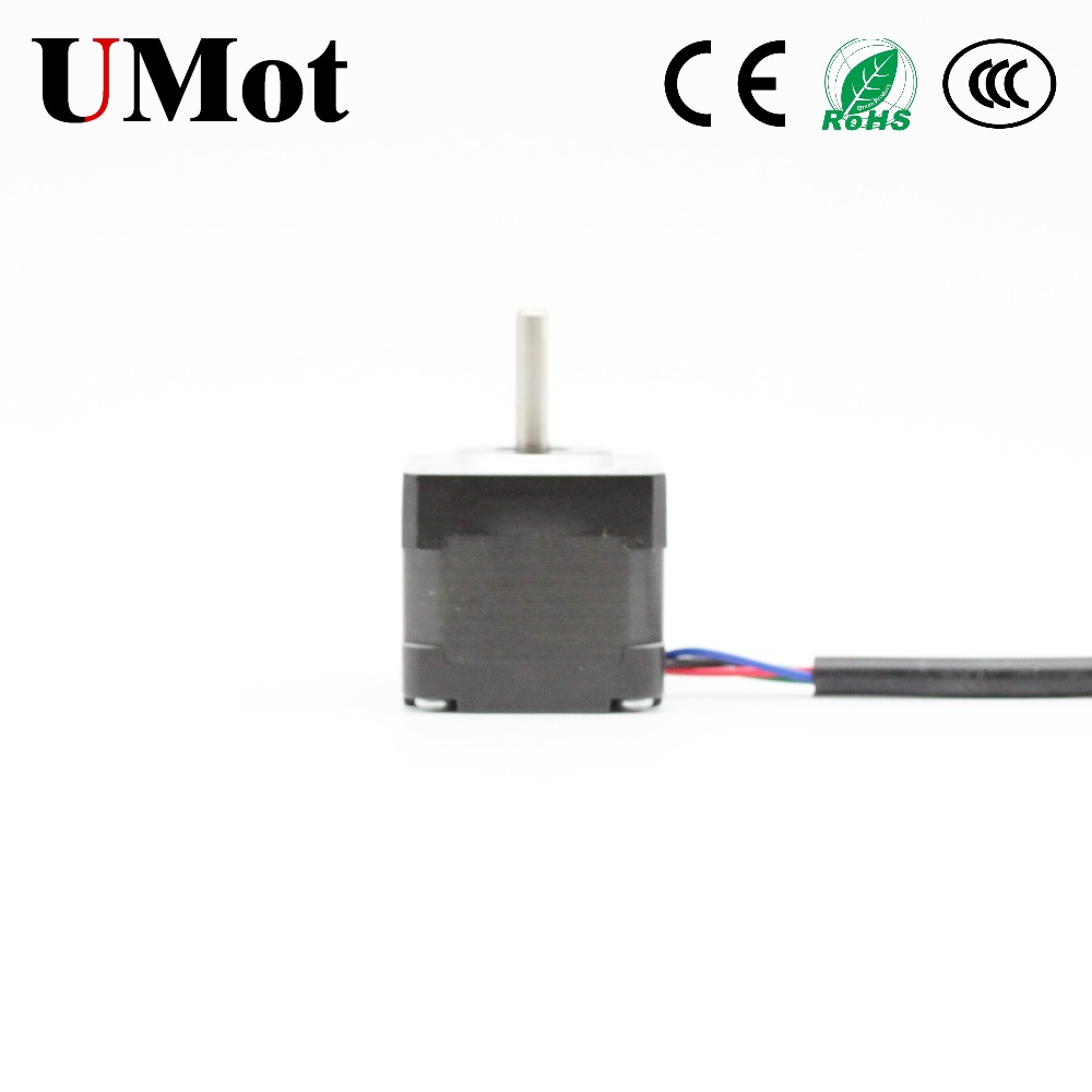 Nema 13 Stepper Motor 35mm Nema13 Mini Motor 1 8 Degree 2PH 1A 140m Nm 4 leads Step Motor with Pulse Driver for 3D Printer CNC in Stepper Motor from Home Improvement