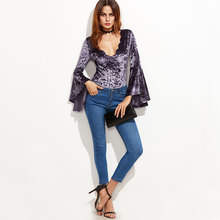 Summer Sexy Rompers Womens Jumpsuit Wild Long Sleeve Bodysuit Thong Autumn Winter Velvet Fabric Clothes Y857