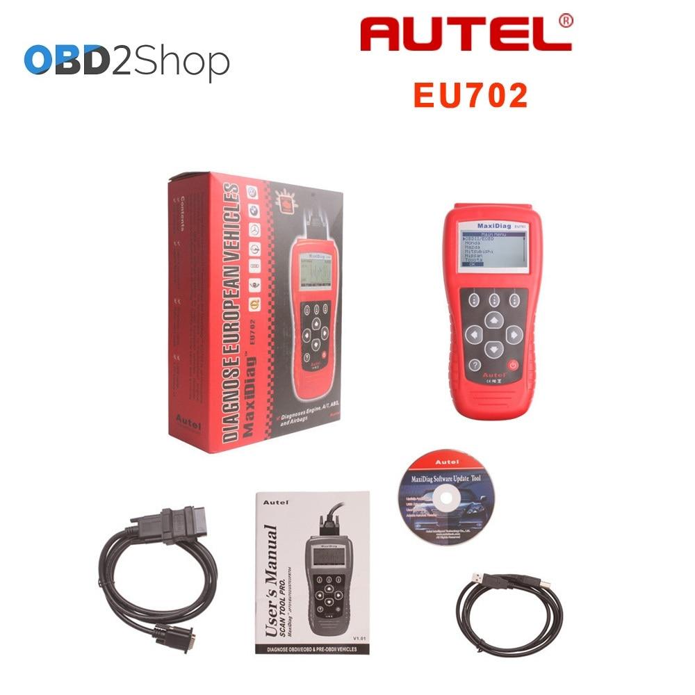 Aliexpress com buy autel maxidiag eu702 obd2 ii eobd code scanner reader from reliable autel maxidiag eu702 suppliers on obd2shop