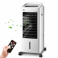 LG03-1, acondicionado ventilador para la refrigeración y calentamiento, Pequeño mini ventilador del aire acondicionado adiot control remoto, ventilador de refrigeración refrigerador de aire