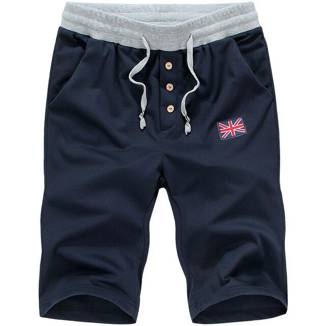 Mens' New Elastic Waist Beach Shorts