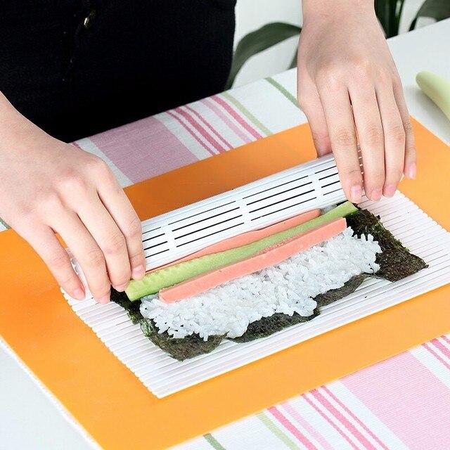 Bamboo Mat Rotolamento Sushi di Rotolamento del Rullo Kit Sushi ...