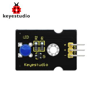 Keyestudio super-jasny emitujący kolor modułu LED dla Arduino STEM (niebieski) tanie i dobre opinie LED module