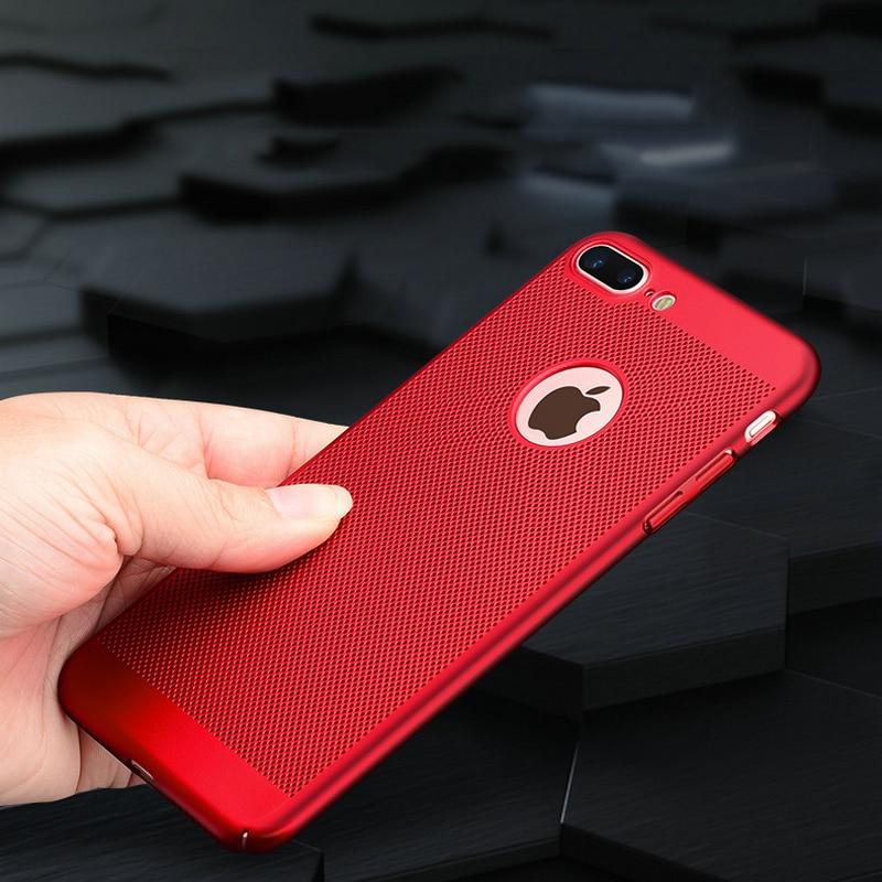 För Apple iPhone 5s SE 5 6 6s 7 Plus Väska 360 Matt hårt - Reservdelar och tillbehör för mobiltelefoner - Foto 6