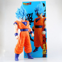 New Anime dragon ball z figurines big size Super Saiyan goku doll dragonball z figure action children model toy 42cm