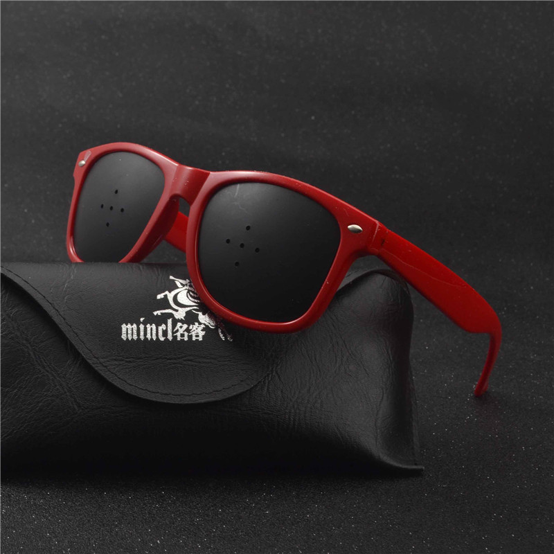 Protect Eyes Anti Myopia Pinhole Glasses Women Men
