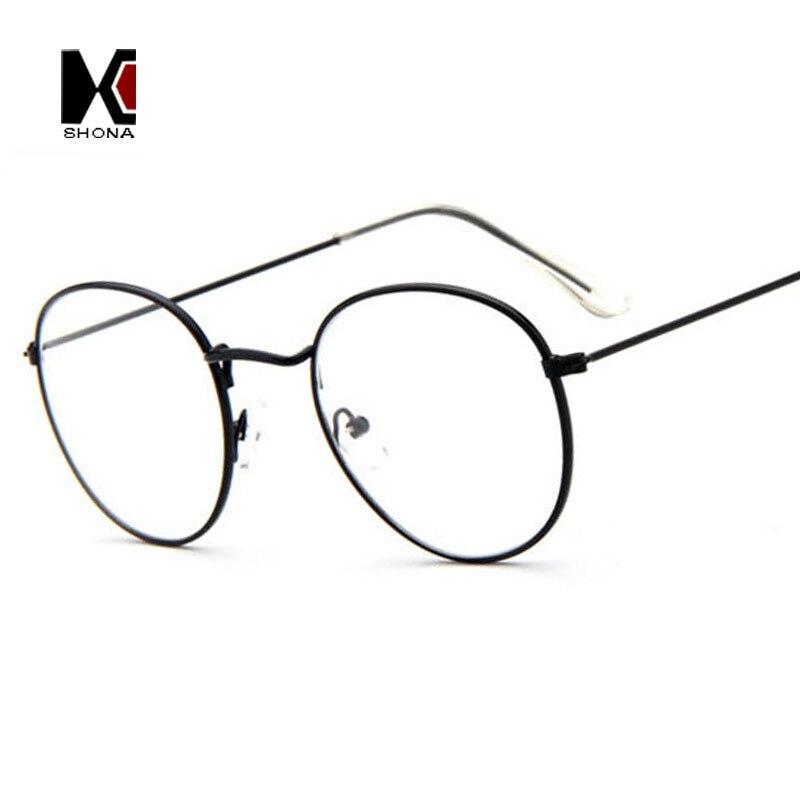 ̿̿̿(•̪ )SHAUNA Super Light Retro Clear Eyeglasses Brand Designer ...