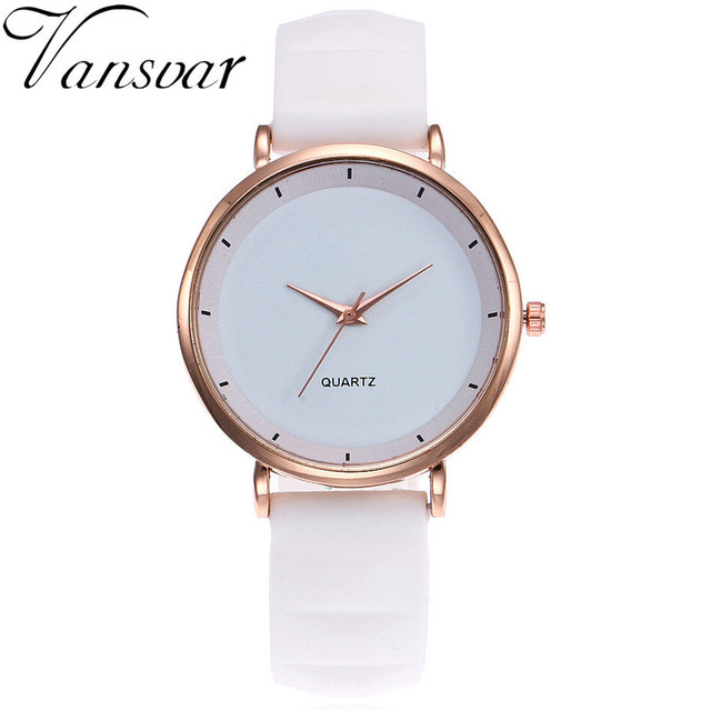 2017 Fashion Jelly Silicone Women Watches Luxury Brand Casual Ladies Quartz Cloc