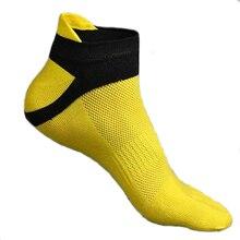 1 pair Fashion Spring Summer Mens Socks Cotton Five Finger Socks Casual Toe Socks Breathable Ankle