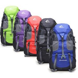 Image 2 - Free Knight Backpack 50L Camping Hiking Bag,Waterproof Mountaineering Tourist Backpacks,Mochila Trekking Sport Climbing Bags