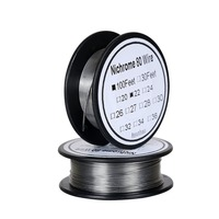 Nichrome 80 wire 22 Gauge AWG Stainless Steel Resistance Wire 0.64 mm 100ft use High temperature resistance Heating|Cable Winder| |  -