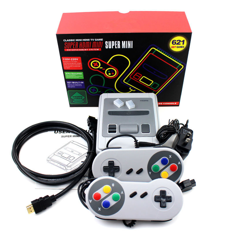 620/621 Games Childhood Retro Mini Classic 4K TV AV/HDMI 8 Bit Video Game Console Handheld Gaming Player Christmas Gift(China)