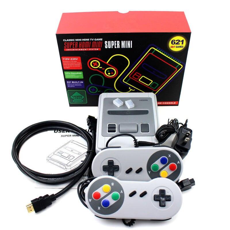 Videospiele Stetig 620/621 Spiele Kindheit Retro Mini Klassische 4 Karat Tv Av/hdmi 8 Bit Video Spielkonsole Handheld Gaming Player Weihnachten Geschenk üBerlegene Leistung