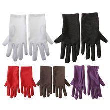 Fashion Women Full Finger Thin Light Gloves Riding Sporty Super-Elastic Solid Sunscreen Driving Glove New