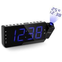 Digital FM Radio Alarm Clock Projector Clock LED Time Projection Display Relogio Parede Timer Temperature Table Desk Clock
