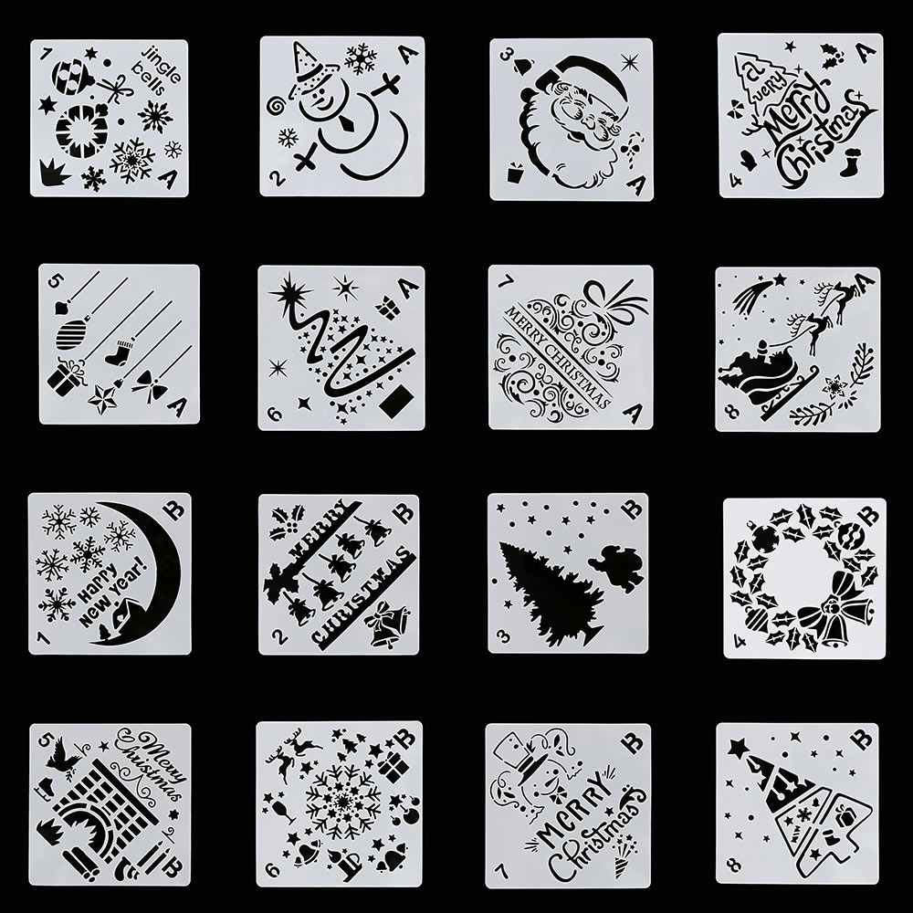 1Pc DIY Craft Layering Stencils Template For Walls Painting Scrapbooking Stamp