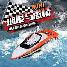 Kecepatan Tinggi RC Boat 2.4G Hz 4 Channel 30Km/Jam Radio Remote Control RC Balap Perahu Listrik Mainan RC Mainan untuk Childern Hadiah