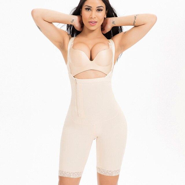 2c9c0c1bcc9ec Plus Size 4 5 6XL Women Shapewear Waist Slimming Shaper Corset Butt Lifter  Modeling Strap Body Shaper Underwear Women Bodysuits