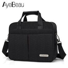Плечо рук Портативный работа Бизнес офис мужской сумка большой мужской портфель для Docu Для мужчин t ноутбук сумка 15,6 Tablet PC