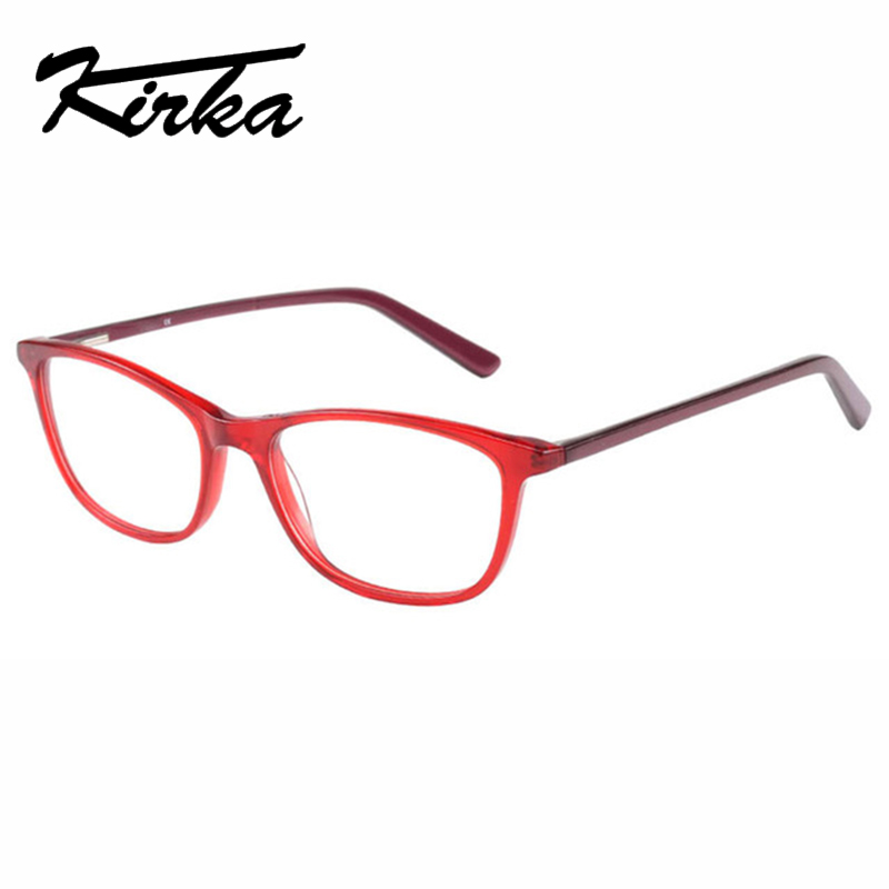 Kirka gafas marco rojo Color clásico decoración gafas ópticas gafas de  lectura Vintage gafas marco mujer miopía en Marcos Eyewear de Accesorios de  ropa en ... a3e1a2e2b588