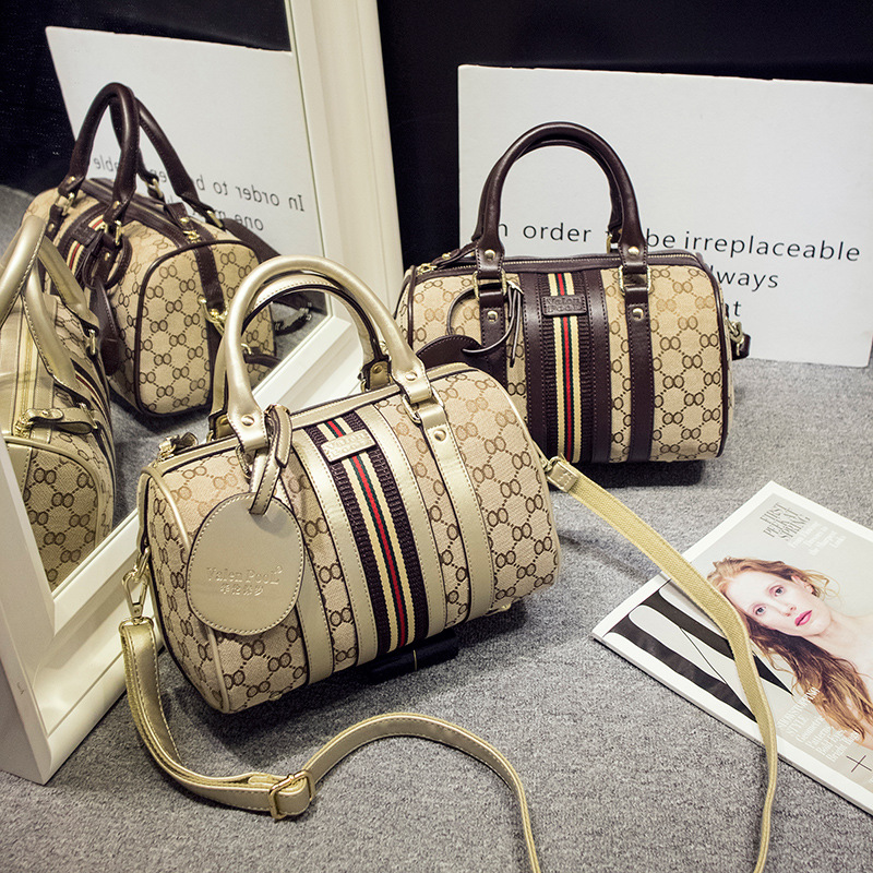 ФОТО new collection 2017 women handbag genuine leather women's handbag boston style, brand design, female bussinessbags