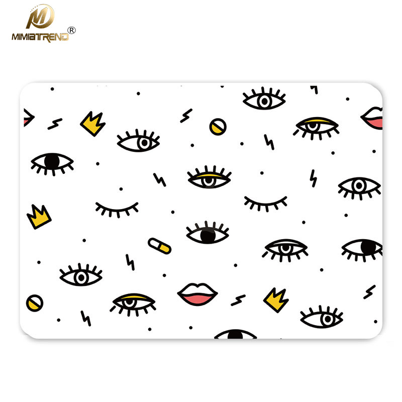 Mimiatrend Fashion Eyes Full Body Cover Laptop Stickers
