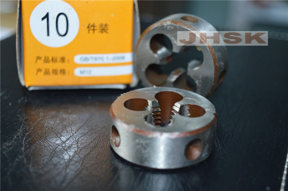 1pcs 12mm x 1.75 Metric Right hand Die M12 x 1.75mm Pitch  superior quality