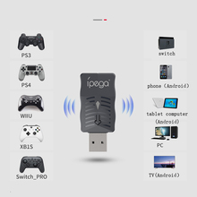 iPega PG 9132 Multi Function Wireless Receiver for Nintend Swich/PC/Android Compatible for Wii U/Xbox One S/PS4/PS3 Controllers