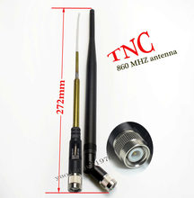 868 mhz ou 868 mhz/915 mhz, antena omni-direcional de alto ganho de 920 mhz com um círculo do conector do tnc ipex