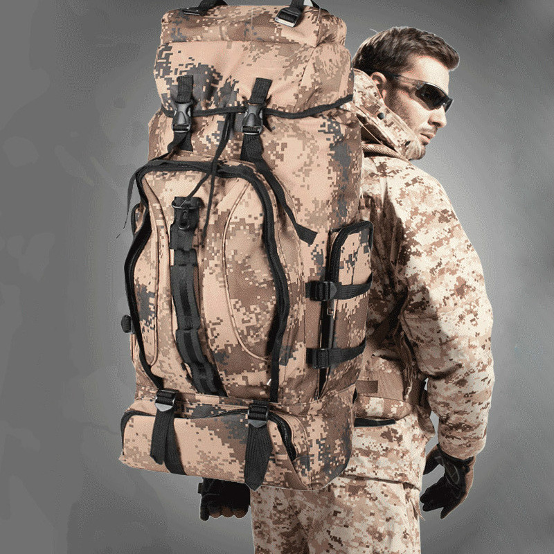2018 Tactical Bag Military Backpack Mountaineering Men Travel Outdoor Sport Bags Backpacks Hunting Camping Rucksack
