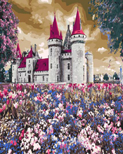 "DIY Painting By Number – Castle (16""x20"" / 40x50cm)"