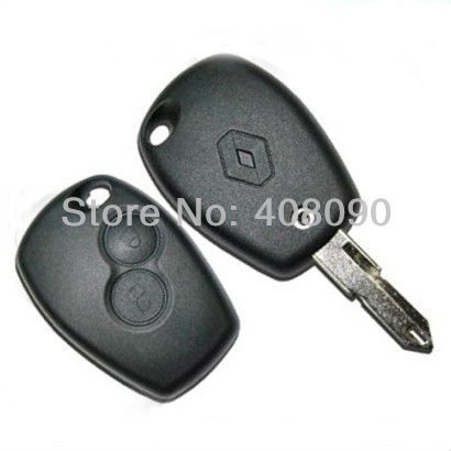 2 Buttons Blank Remote Key Case Shell FOB For Renault Scenic Megan Laguna DK111