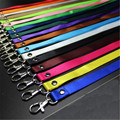 10pcs/lot Wholesale High Quality Colorful Detachable Lanyard Neck Hang Rope Reel ID Metro Card Badge Bag Holder pass