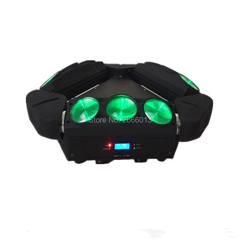 Mini LED Infinite Rotated Beam Moving Head LED Spider Light 9x10w RGBW LED Endless Rotate Beam Effect dj disco lights freeshipping 2xlot 16 head led moving head spider light endless rotation 16x25 high power rgbw 4in1 beam full color lcd display