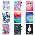 """Dreaming Paint PU Leather Stand Case Cover For Samsung Galaxy Tab E T560 T561 Tablet Case For Samsung Tab E 9.6"""" SM-T560 SM-T561"""