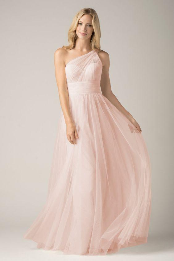 Popular Light Pink Bridesmaid Dresses-Buy Cheap Light Pink ...
