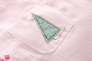 Image 4 - 2019 Leuke nieuwe moeder baby meisje kleding katoen roze kids grils romper 2 stuks romper + broek kinderen uitloper sets