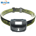 ZK50 LED Infrared Ray Headlight Bike Bicycle Light Accessories Waterproof 600Lm 4 Modes R3+2 LED 3xAAA Headlamp With Headband