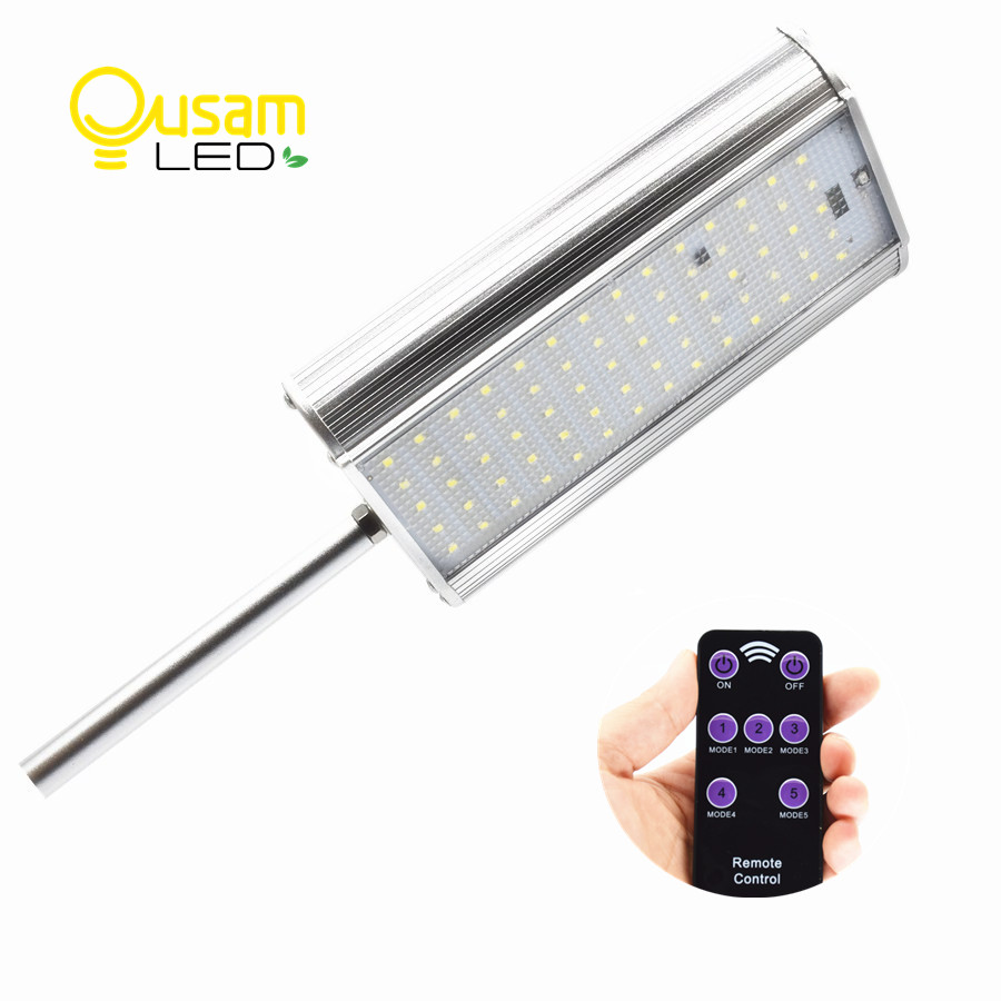 70 Led Street Light Solar Power Lamp With Remote Controller 3 Modes Motion Sensor Aluminum Alloy Waterproof For Garden Lighting new motion plus sensor for nintendo for wii remote controller with silicone case free shipping