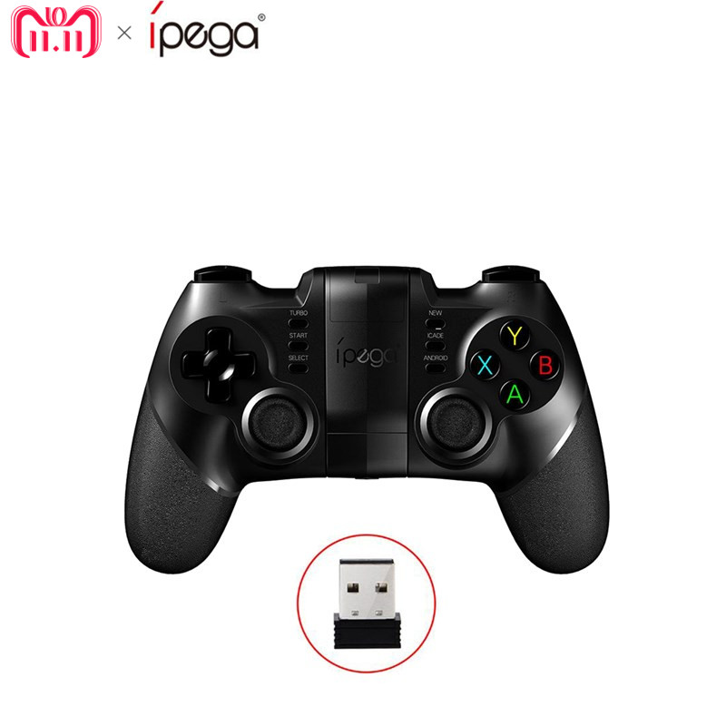 Ipega PG-9076 PG 9076 Gamepad Bluetooth Game Controller 2.4G Wireless Receiver Joystick Android Game Console Player ipega pg 9028 practical stretch bluetooth game controller gamepad joystick with stand