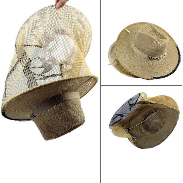 2ad2e2dae WINOMO Beekeeping Garden Guard Cowboy Hat Anti Mosquito Bee Insect Bug Face  Head Veil